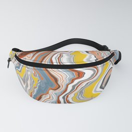 Puffins marble Fanny Pack