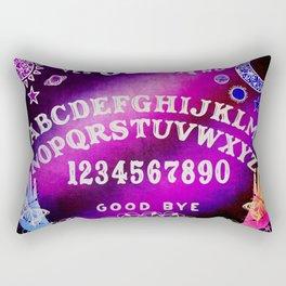 Galaxy Ouija Board Design Rectangular Pillow