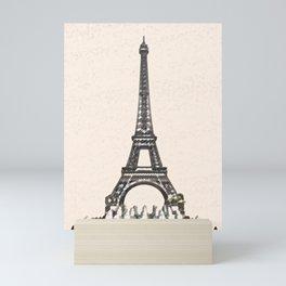 ArtWork Tower Eiffel Paris France Painting Art Print Mini Art Print