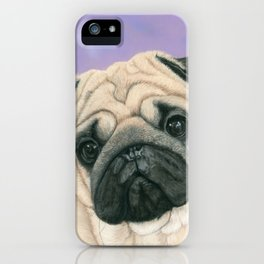 Pug Love iPhone Case