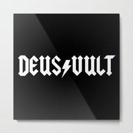 Deus Vult Metal Print