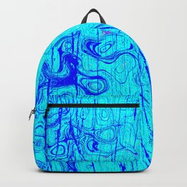 Abstract Oil on Water Backpack
