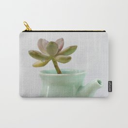 Succulent in tea pot Carry-All Pouch