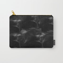 Black cat blanket Carry-All Pouch