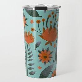 Retro Garden Travel Mug