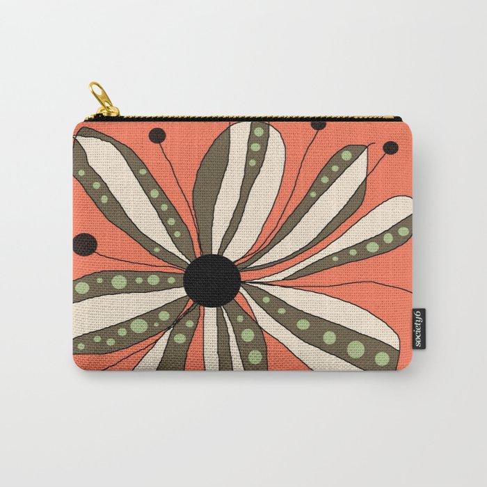 FLOWERY LAURA  / ORIGINAL DANISH DESIGN bykazandholly   Carry-All Pouch