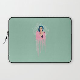 MOUTH FULL OF WHITE LIES Laptop Sleeve