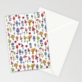 Poisoned mashrooms Stationery Cards