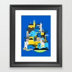 Magic Town Framed Art Print