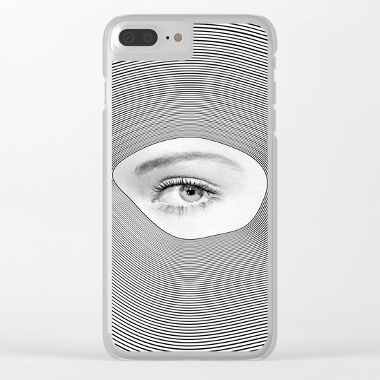 Is there anybody out there Clear iPhone Case