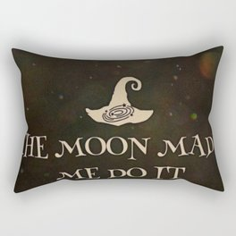 Moon Made Me Rectangular Pillow