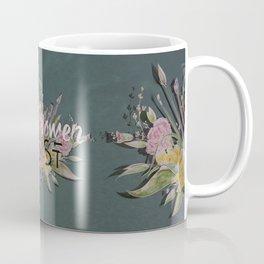 Nasty Women Resist: Les Fleurs de la Resistance Coffee Mug