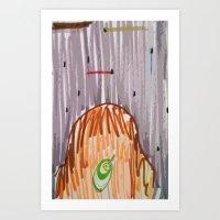 Alien Night Art Print