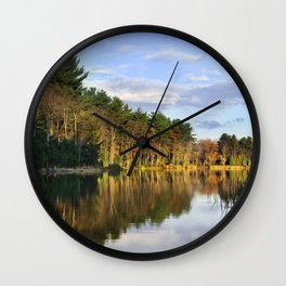 First Light Sunrise Landscape Wall Clock