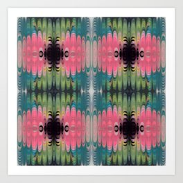 Candie Waves Art Print