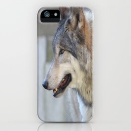 The shy one iPhone Case