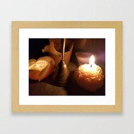 Nights of Ceremony Framed Art Print