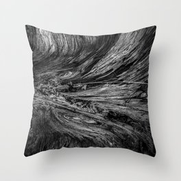 Tree Abstraction Throw Pillow