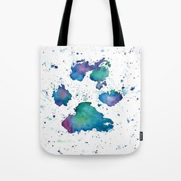 Dogs (Soul Print) Tote Bag