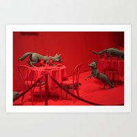 home alone Art Prints featuring Home Alone by Uukie Art
