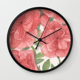 flowersitas Wall Clock