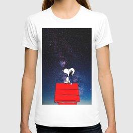 Snoopy Galaxy Nebula T-shirt