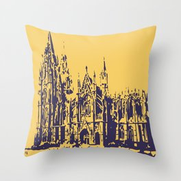 Cologne Cathedral Koelner Dom Throw Pillow