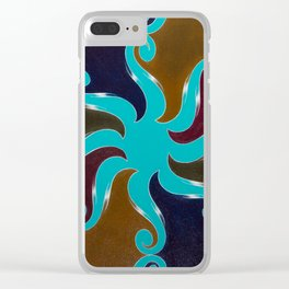 Points Of Return, No. 1 Clear iPhone Case