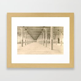 Moved Out Framed Art Print