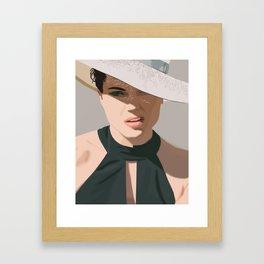 Lana Parrilla Framed Art Print