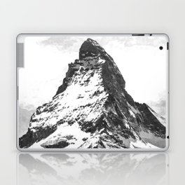 Black and White Mountain Laptop & iPad Skin