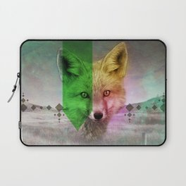 Field of Foxes Laptop Sleeve