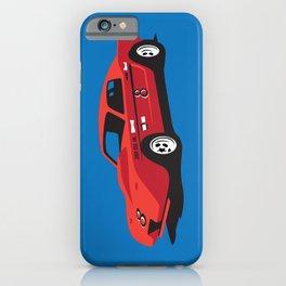 Vintage Hill Climb Race Car iPhone Case