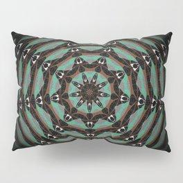 Spider Totem Meditation Mandala Pillow Sham