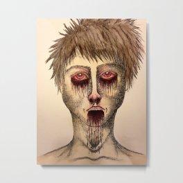 Infect Metal Print