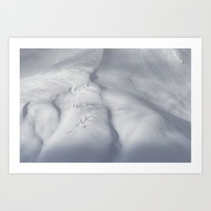 Planet Snow 3 Art Print