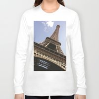 eiffel tower Long Sleeve T-shirts featuring Eiffel Tower by caroline