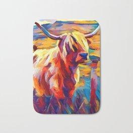 Highland Cow 4 Bath Mat