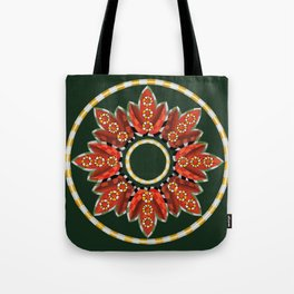Ring Around the...buds and leaves Tote Bag