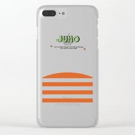 Juno - Alternative Movie Poster, classic movie, funny movie, minimal movie poster Clear iPhone Case