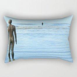 Iron Men as the tide returns Rectangular Pillow