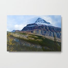 Highest Mountain in the Canadian Rockies; Mount Robson Metal Print