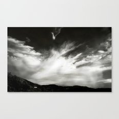 Sky is over Canvas Print