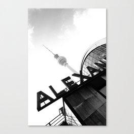Berlin Alexanderplatz Station Canvas Print