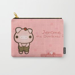 Jerome the Distracted Pig Carry-All Pouch
