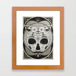 il vampiro Framed Art Print