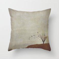 Good Friends Will Stick Around Throw Pillow