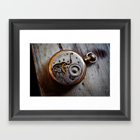 The Conductor's Timepiece - 1 Framed Art Print