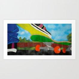 Lemon Sole Art Print