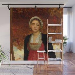 "Frederic Leighton ""Amarilla"" Wall Mural"